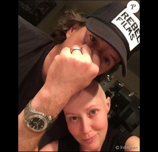Shannen Doherty pose avec son mari sur Instagram, le 1er octobre 2016