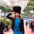 Julie Ferrier lors de la cérémonie de clôture du 27ème Festival du film britannique de Dinard, le 1er octobre 2016