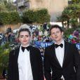 Tara Lee et Jack Parry-Jones lors de la cérémonie de clôture du 27ème Festival du film britannique de Dinard, le 1er octobre 2016