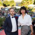 Isabella Laughland et son compagnon lors de la cérémonie de clôture du 27ème Festival du film britannique de Dinard, le 1er octobre 2016