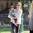 Amanda Peet et sa fille Frances Pen