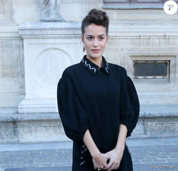Alice David - Défilé Sonia Rykiel (collection prêt-à-porter printemps-été 2017) à l'École nationale supérieure des Beaux-Arts. Paris, le 3 octobre 2016. © CVS/Veeren/Bestimage