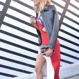 """Karlie Kloss - Défilé de mode prêt-à-porter printemps-été 2017 """"Louis Vuitton"""", place Vendôme. Paris, le 5 octobre 2016 © CVS-Veeren / Bestimage"""