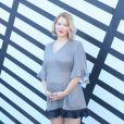 """Léa Seydoux (enceinte) - Défilé de mode prêt-à-porter printemps-été 2017 """"Louis Vuitton"""", place Vendôme. Paris, le 5 octobre 2016 © CVS-Veeren / Bestimage"""