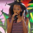 """Tamillia dans """"The Voice Kids 3"""" le 8 octobre 2016 sur TF1."""