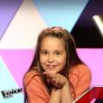 """Manuela dans """"The Voice Kids 3"""", le 8 octobre 2016 sur TF1."""