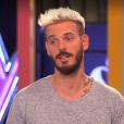 """Manuela dans """"The Voice Kids 3"""", le 8 octobre 2016 sur TF1. Ici M. Pokora."""