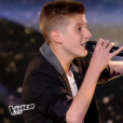 """Evän dans """"The Voice Kids 3"""" le 8 octobre 2016 sur TF1."""