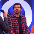 """Patrick Fiori dans """"The Voice Kids 3"""" le 8 octobre 2016 sur TF1."""