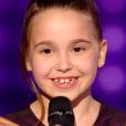 """""""The Voice Kids 3"""", le 8 octobre 2016 sur TF1. Ici Manuela."""