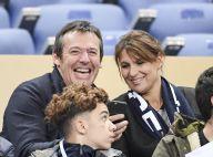 Jean-Luc Reichmann, Sylvain Wiltord et leurs chéries pour la victoire des Bleus