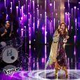 Jenifer lors de la finale de  The Voice Kids 3