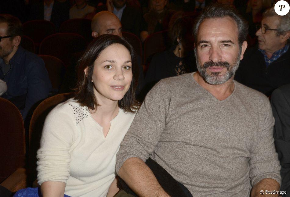 Nathalie p chalat avec son compagnon jean dujardin la for Jean dujardin famille