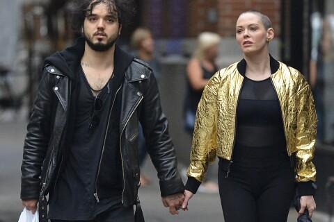 Rose McGowan, main dans la main d'un nouvel homme... Ami ou amant ?