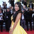"""Ayem Nour - Montée des marches du film """"Inside Out"""" (Vice-Versa) lors du 68 ème Festival International du Film de Cannes, à Cannes le 18 mai 2015."""