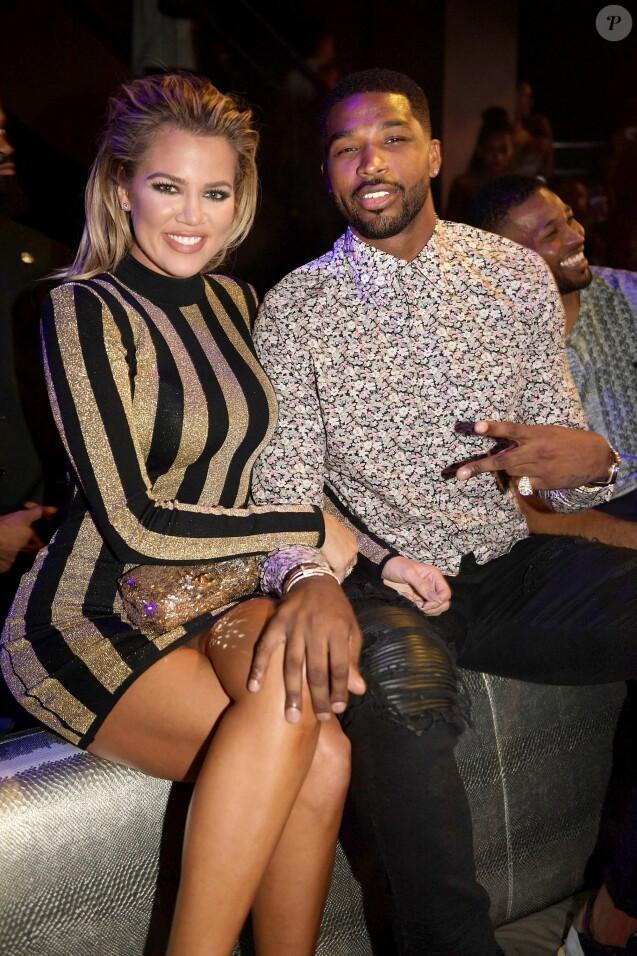Khloé Kardashian Tristan Thompson pour leur toute première apparition officielle à Miami le 19 septembre 2016.