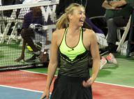 Maria Sharapova : Superbe pour son grand retour, aux côtés de légendes...