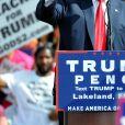 Donald Trump lors d'une conférence organisée à Lakeland le 12 octobre 2016