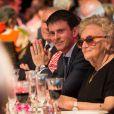Manuel Valls, premier ministre et Bernadette Chirac - Dîner anniversaire pour les 10 ans du Musée du quai Branly - Jacques Chirac à Paris, France, le 23 juin 2016. © Romuald Meigneux/Bestimage