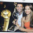 Cristiano Ronaldo inaugure son musee à Funchal le 15 deccembre 2013, accompagné d'Irina Shayk.