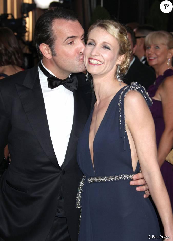 Jean dujardin et alexandra lamy en f vrier 2012 aux oscars for Lamy dujardin