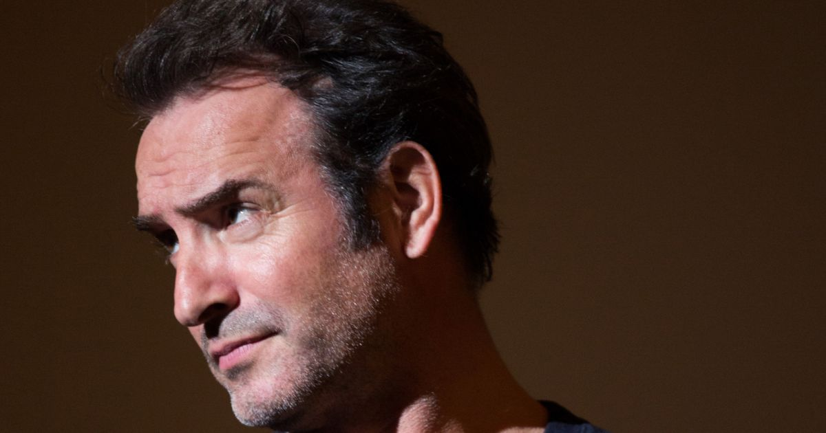 Jean dujardin avant premi re du film un homme la for Jean dujardin interview