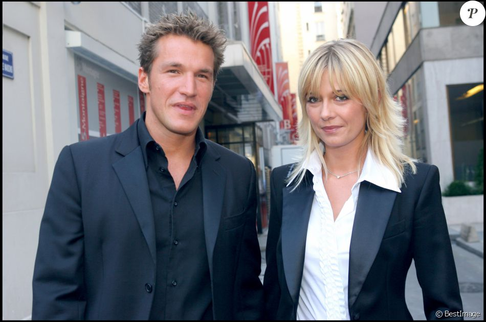 BENJAMIN CASTALDI ET FLAVIE FLAMENT LORS DE LA CONFERENCE DE PRESSE DE RENTREE DE TF105/09/2006 - Paris