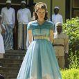 Une des robes portées par Claire Foy : Elisabeth II dans The Crown une série originale Netflix