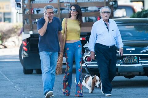 Amal Clooney, délicieusement rétro avec son père, précieux soutien de George