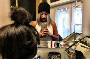 Amel Bent : Nouveau changement de tête ? Elle s'essaie au violet !