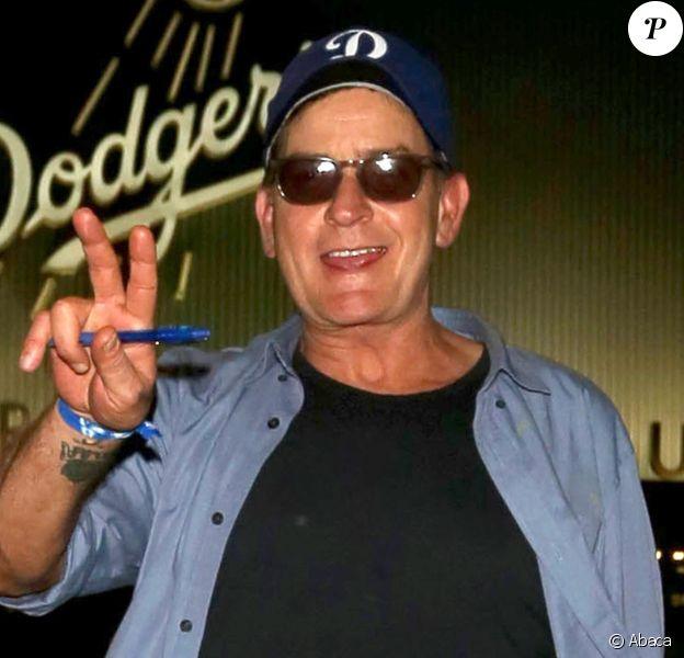 Charlie Sheen à Los Angeles le 19 octobre 2016