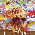 Pauline Ducruet sur Governors Island avec ses amies, photo publiée sur son compte Instagram.