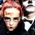 Pauline Ducruet grimée lors d'Halloween 2016 à Brooklyn, New York, photo publiée sur son compte Instagram.