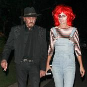 Johnny Hallyday et Laeticia géniale en Chucky: Halloween entre stars à Hollywood