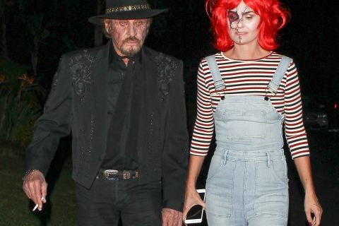 Johnny Hallyday et Laeticia géniale en Chucky: Halloween entre stars à Hollywood