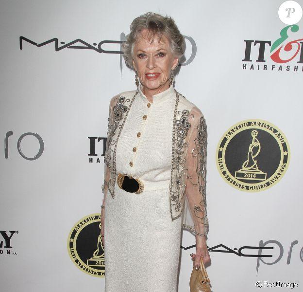 """Tippi Hedren assiste à la soirée """"Makeup Artists and Hair Stylists Guild Awards"""" à Hollywood, le 15 février 2014"""