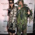 Desiree Gruber et Kyle MachLachlan-Soirée de Halloween animée par Heidi Klum au Vandal. New York, le 31 octobre 2016.