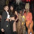 Jackie Cruz, Danielle Brooks et Jessica Williams-Soirée de Halloween animée par Heidi Klum au Vandal. New York, le 31 octobre 2016.