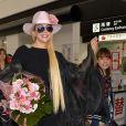 Singer Lady Gaga arrives at Narita International Airport in Tokyo, Japan, on November 1, 2016. Photo by Keizo Mori/UPI/ABACAPRESS.COM01/11/2016 - Tokyo