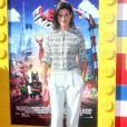 """Cobie Smulders à la Premiere du film """"La Grande Aventure Lego"""" a Westwood, le 1er février 2014."""