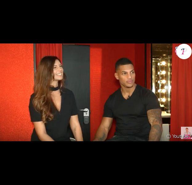 """Maéva et Marvin de """"Secret Story 10"""" en interview avec Sam Zirah, le 3 novembre 2016 dans """"En toute intimité""""."""