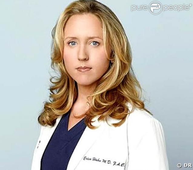 Brooke Smith est le Dr Hahn de Grey's Anatomy