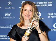 """Justine Henin enceinte : L'ex-championne de tennis attend """"un petit trésor"""""""