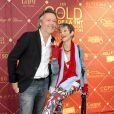 Jean-Michel Maire et Isabelle Morini-Bosc - Les Gold Prix de la TNT , les récompenses de la télévision au théâtre Bobino à Paris , le 6 juin 2016. © Perusseau-Veeren/Bestimage