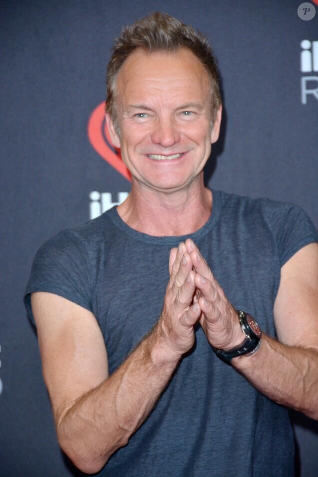 Sting à la soirée Festival de musique iHeartRadio au T-Mobile Arena à Las Vegas, le 24 septembre 2016 © Marcel Thomas via Zuma/Bestimage