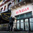 La nouvelle façade du Bataclan à Paris, le 27 octobre 2016. Sting y chante samedi 12 novembre pour sa réouverture.