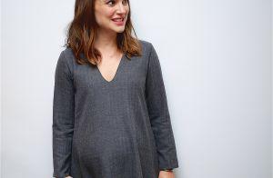 Natalie Portman enceinte : Petite robe et baby bump, la star défend