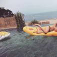 Pauline Ducruet s'éclate à Monte-Carlo, photo Instagram début juillet 2016