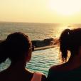 Pauline Ducruet en vacances à Mykonos, été 2015