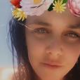 Pauline Ducruet à Marrakech en mai 2016 au terme d'un long week-end de détente, photo Instagram.